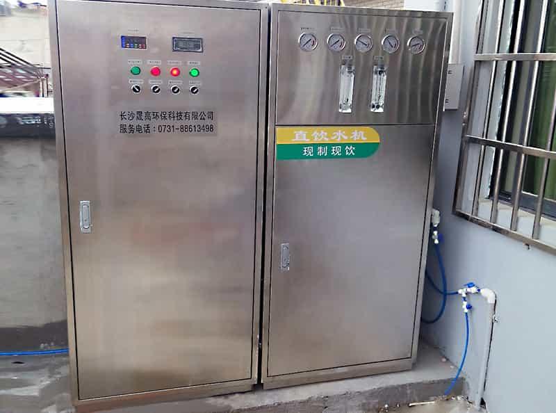 酒店净水处理系统安装案例