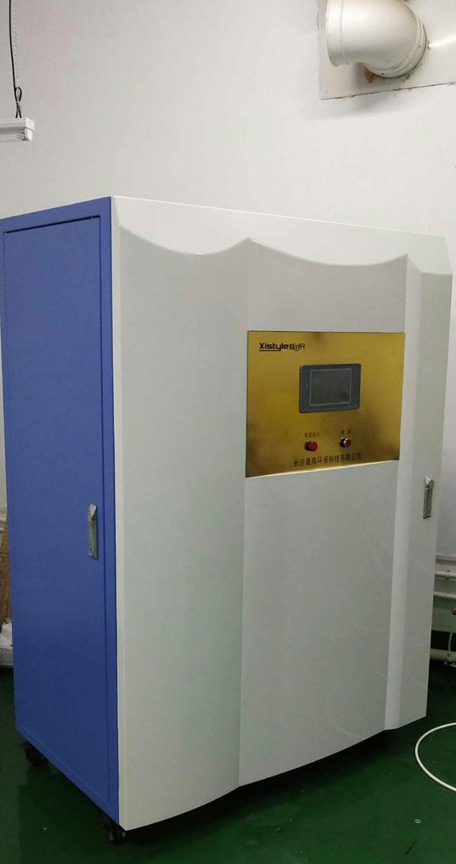 商用厨房净水设备安装实物图